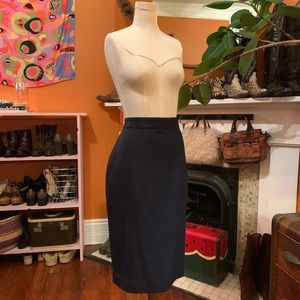 Perfect Navy Pencil Skirt